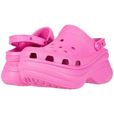 customerAuth Classic Bae Clog レディース クロッグ ミュール Electric Pink