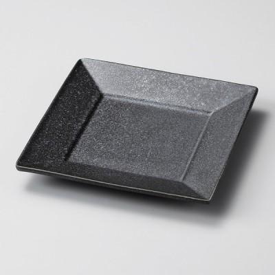 業務用食器 鉄ペーパースクウェアー10�角皿 10.5×10.5×1.8�