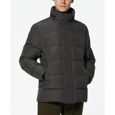 マークニューヨーク ジャケット&ブルゾン アウター メンズ Stratus Men's Down Jacket with Hidden Hood Charcoal