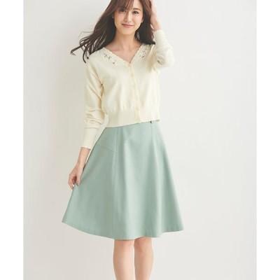 LAISSE PASSE / レッセパッセ カラーフレアースカート