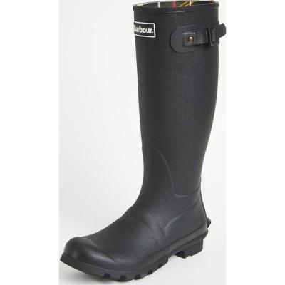 (取寄)バブアー ビード ウェリントン ブーツ Barbour Bede Wellington Boots Black