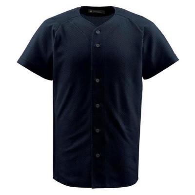 デサント ジュニア フルオープンシャツ ブラック JDB-1010-BLK <2020CON>