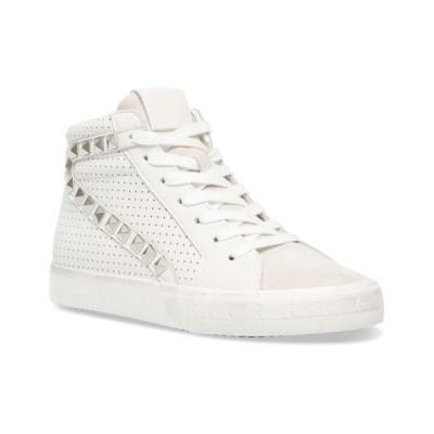 スティーブ マデン レディース スニーカー シューズ Women's Tracey Studded High-Top Sneakers
