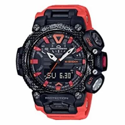 腕時計  G-Shock メンズ GRB200-1A9 グラビティマスターウォッチ レッド ワンサイズ
