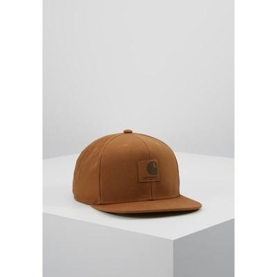 カーハート 帽子 メンズ アクセサリー LOGO UNISEX - Cap - brown