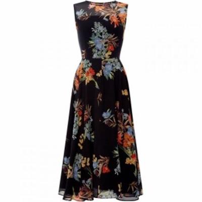 マレーラ Marella レディース ワンピース Vネック ノースリーブ ワンピース・ドレス Pinta sleeveless v neck a line dress Black