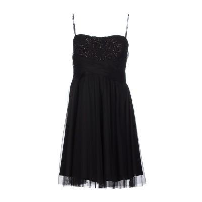 SOOZ by ISABEL C. ミニワンピース&ドレス ブラック 46 ポリエステル 88% / ポリウレタン 12% ミニワンピース&ドレス