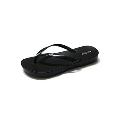 [Mokow] ビーチサンダル レディース ビーサン 島ぞうり ヒール サンダル 軽量 歩きやすい 痛くない 無地 黒 紺色 ビビッドピンク
