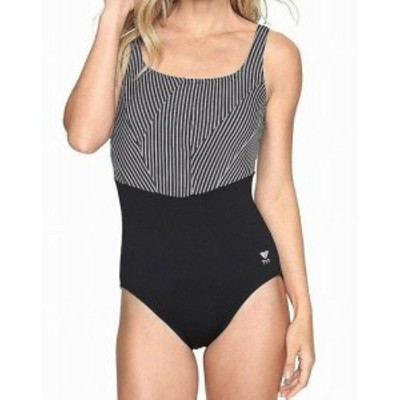 tyr ティア スポーツ用品 スイミング TYR Womens Swimwear Black Gray Size 8 Monroe Controlfit One-Piece