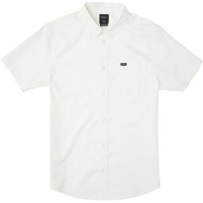 ルーカ メンズ シャツ トップス That'll Do Stretch Short-Sleeve Shirt - Men's White