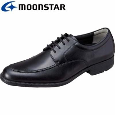 還元祭 送料無料 ムーンスター メンズ ビジネスシューズ 靴 SPH4603 ブラツク 本革 高機能 メンズビジネス 足のストレスを軽減する革靴