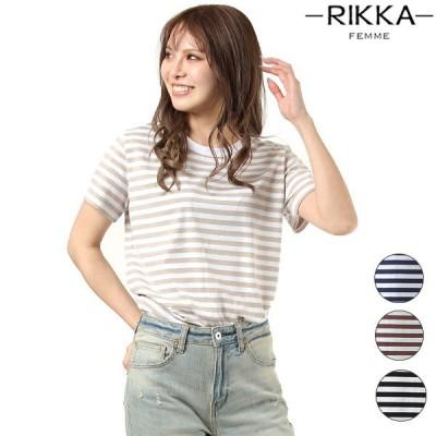 RIKKA FEMME リッカファム R20S003 レディース 半袖 Tシャツ HH1 C20