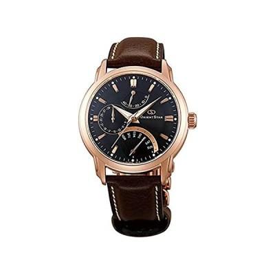 [オリエント]ORIENT 腕時計 オリエントスター 海外モデル レトログラード 自動巻 (手巻き付き) ブラック SDE00003B0 メンズ [並