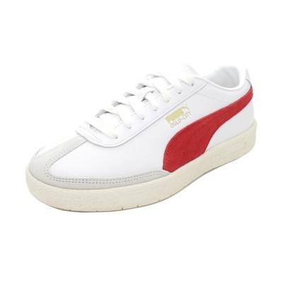スニーカー プーマ PUMA オスロシティPRM ホワイト/レッド/グレー 374800-02 メンズ シューズ 靴 20AW
