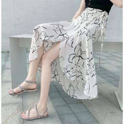 ロングカート 体型カバー スカート レディース 花柄 コーデ ミモレ丈 大きいサイズ マキシスカート 春 夏 2020 20代 30代 40代 50代