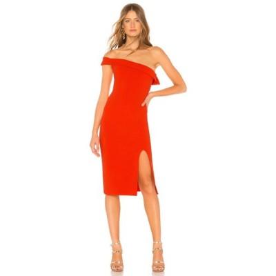 エヌビーディー NBD レディース ワンピース ワンピース・ドレス Kade Midi Dress Bright Red