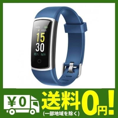 スマートウォッチ 歩数計 活動量計 GanRiver 腕時計 IP68防水 ランニングモード 消費カロリー アラーム 着・・・