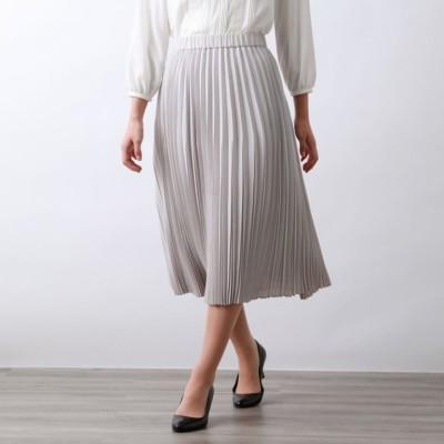 マットボイルプリーツスカート