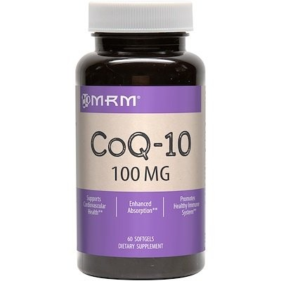 CoQ-10, 100 mg, ソフトジェル 60 粒