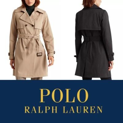 ローレン ラルフローレン ラルフ LRL コート トレンチコート アウター ベージュ ブラック 黒 Polo RALPH LAUREN 取り寄せ
