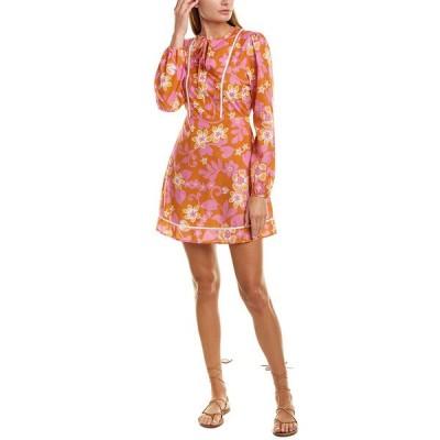 ワーム ワンピース トップス レディース Warm Chelsea A-Line Dress pink multicolor