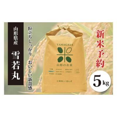 FY20-497 【令和3年産 新米先行予約】雪若丸白米(5kg)