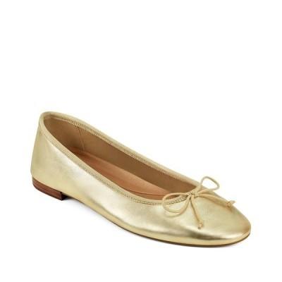 エアロソールズ サンダル シューズ レディース Women's Homerun Ballet Flat Sandal Gold Metallic