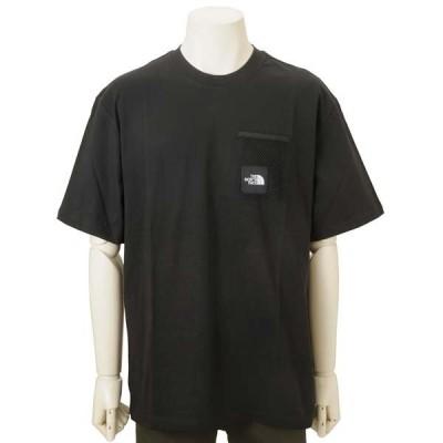 オータムバーゲン ノースフェイス THE NORTH FACE Tシャツ 半袖 メンズ ブラック NF0A557KJK3 ロゴTシャツ