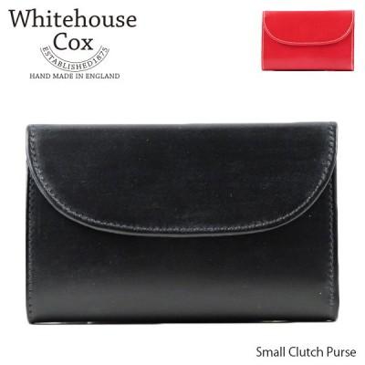 Whitehouse Cox ホワイトハウスコックス 三つ折り財布 Small Clutch Purse S1112