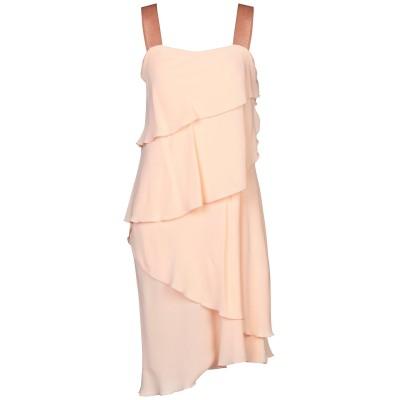 ANTONELLI ミニワンピース&ドレス ピンク 40 シルク 100% ミニワンピース&ドレス