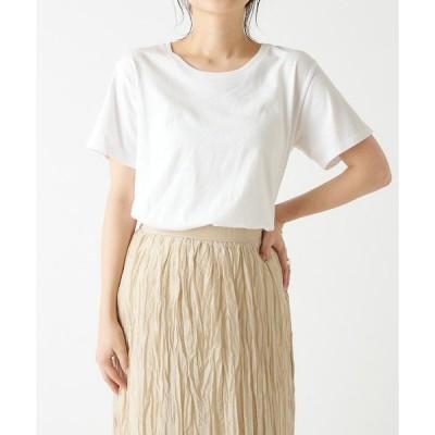 tシャツ Tシャツ 2139クルーネック半袖Tシャツ(ホワイト・サックス)