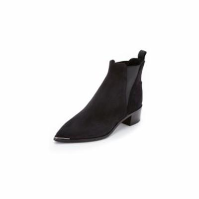 アクネ ストゥディオズ Acne Studios レディース ブーツ ブーティー シューズ・靴 Jensen Suede Booties Black