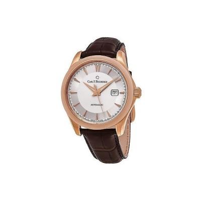 腕時計 カールブヘラ Carl F. Bucherer Manero AutoDate シルバー ダイヤル メンズ 腕時計 0010915031301