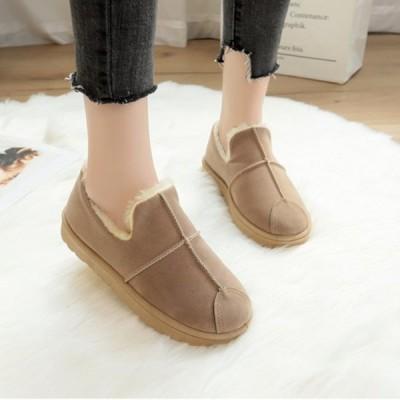 ブーツ ムートンブーツ ショートブーツ 靴 シューズ スエード レディース グレー グリーン ブラウン 4サイズ