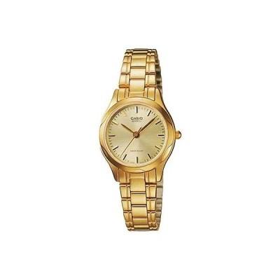 カシオ Casio レディース Core LTP1275G-9A ゴールド ステンレス-スチール クォーツ 腕時計