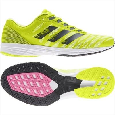 [adidas]アディダス メンズ ランニングシューズ ADIZERO RC 3 M (FW9299)ソーラーイエロー/クルーネイビー/ハイレゾイエロー[取寄商品]