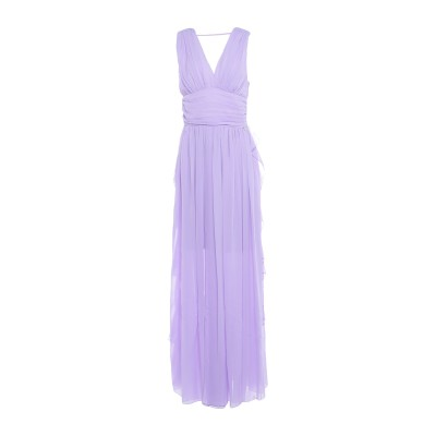 レリッシュ RELISH ロングワンピース&ドレス ライラック XS ポリエステル 100% ロングワンピース&ドレス