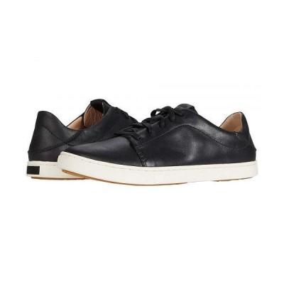 Olukai オルカイ レディース 女性用 シューズ 靴 スニーカー 運動靴 Pehuea Li Ili - Black/Black