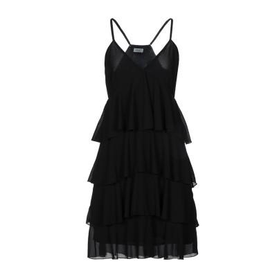 リュー ジョー LIU •JO ミニワンピース&ドレス ブラック 40 ポリエステル 100% ミニワンピース&ドレス