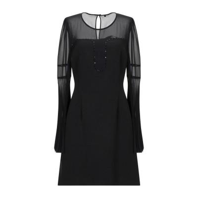 アンナリータ エンネ ANNARITA N ミニワンピース&ドレス ブラック 40 ポリエステル 100% / ポリウレタン ミニワンピース&ドレス