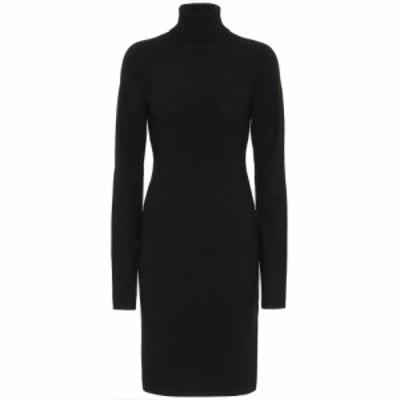 ヘルムート ラング Helmut Lang レディース ワンピース ワンピース・ドレス Wool-blend sweater dress Black