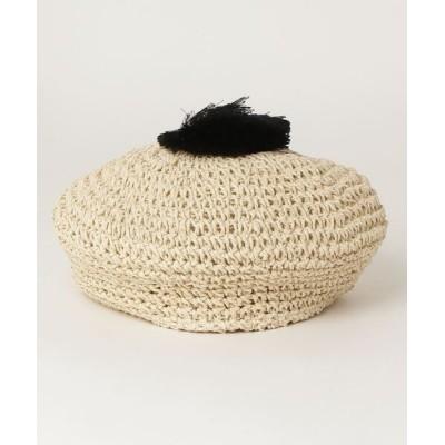B:MING LIFE STORE by BEAMS / B:MING by BEAMS / ポン付 ペーパー ベレー帽 KIDS 帽子 > ハンチング/ベレー帽
