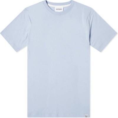 ノースプロジェクト Norse Projects メンズ Tシャツ トップス niels standard tee Clouded Blue
