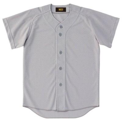 少年用ユニフォームシャツ  ZETT ゼット ヤキュウソフトユニフォーム シャツJR (BU2071-1300)