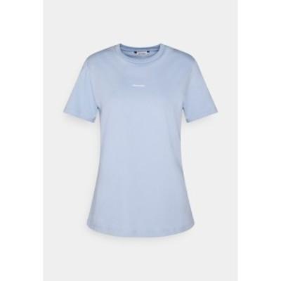 ホルツワイラー レディース Tシャツ トップス SUZANA TEE - Basic T-shirt - light blue light blue