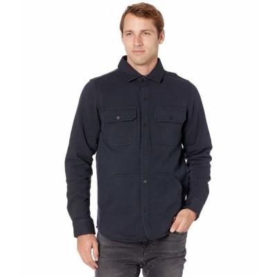ティンバーランド シャツ トップス メンズ Mill River Fleece Shirt Jacket Dark Navy