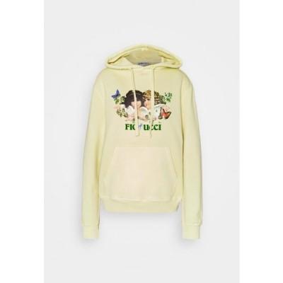 レディース ファッション WOODLAND VINTAGE ANGELS HOODIE HONEY SUCKLE - Sweatshirt - yellow