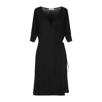 ジャスト・フォー・ユー JUST FOR YOU ミニワンピース&ドレス ブラック XS レーヨン 95% / ポリウレタン 5% ミニワンピース&
