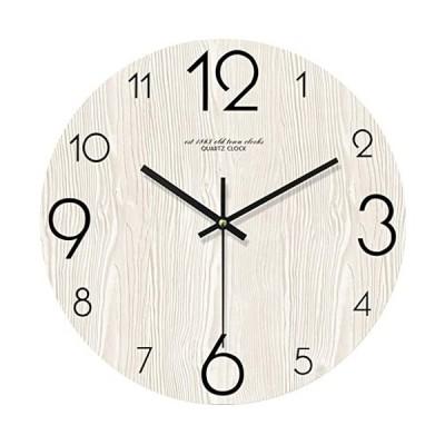 yiteng-フレームなし-アラビア数字-ウォールクロック-壁掛け時計