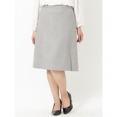 【大きいサイズ】【LL-7L】【セット商品あり】TRストレッチ8枚ハギスカート 大きいサイズ スカート レディース